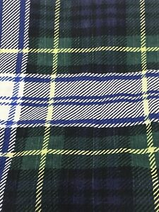Ralph Lauren Gordon Plaid Standard Pillowcases - Set of 2 - Made in USA