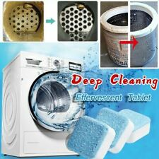 10/20Pcs Washing Machine Cleaning Effervescent Tablets Cleaner Deep Wash Tool