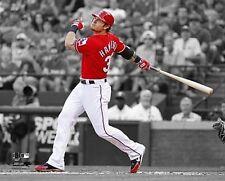 "JOSH HAMILTON ""Spotlight"" Texas Rangers LICENSED poster un-signed 8x10 photo"