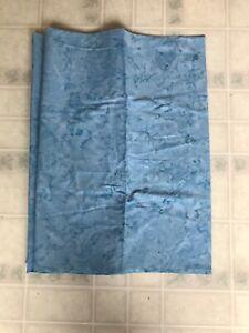 Hoffman Fabrics Batik Blue Water Look Print 1 7/8 Yard