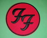 HEAVY METAL PUNK ROCK MUSIC FESTIVAL SEW ON / IRON ON PATCH:- FOO FIGHTERS (a)