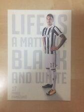 Juventus F.C - Cartolina Card 2017/18 MANDZUKIC
