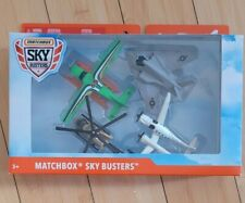 Matchbox Airplanes Sky Busters 4 Pack Diecast Airplanes Nighthawk Set