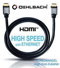 Oehlbach BLACK MAGIC 1000 High-Speed-Câble HDMI avec Ethernet 4k HDR 10 m NEUF
