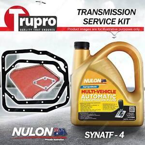 SYNATF Transmission Oil+ Filter Service Kit for Mitsubishi Magna TM TN TP Nimbus