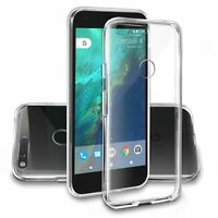 Clear Silicone Slim Gel Case Screen Protector for Google Pixel