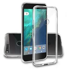 Clear Silicone Slim GEL Case Screen Protector for Google Pixel XL