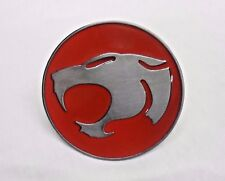 Red THE THUNDERCATS Logo Belt Buckle Metal