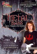 Metal Bass 0884088501754 With David Ellefson DVD Region 1