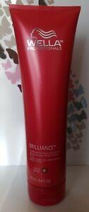 Wella Brilliance Conditioner for Coarse Hair 250ml/8.4oz **FREE SHIPPING**