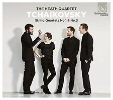 The Heath Quartet - Tchaikovsky: String Quartets (CD 2016)