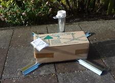 Sonnenschirmständer aus Stahl verzinkt 40-47mm #195 aus Germany für Betonplatten