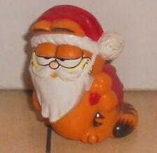 1981 Garfield As Santa Clause PVC Figure VHTF Vintage Christmas XMAS