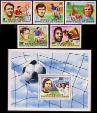 Football Mint Never Hinged/MNH Congolese Stamps