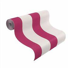 Rasch Tapete Prego 2 / 700206 Streifen Pink Weiß / Streifentapete / 1,87 €/qm