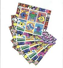 mini sheet  - MR MEN Miniature stamp sheet Mint Cartoon LOT OF 5 Cinderella