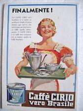 pubblicità advertisings caffè CIRIO by DALM DALMONTE (1935)