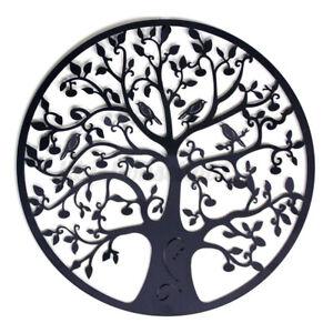 60×60cm Metallbaum Baum Eisen Runde Hängen Kunst Dekoration Rost Garten