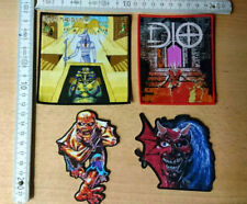 RARE WOVEN IRON MAIDEN DIO PATCH JUDAS PRIEST METALLICA LED ZEPPELIN DEEP ROLLIN