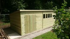 20 x 10ft 19MM Tanalised PENT HEAVY DUTY Workshop/Shed