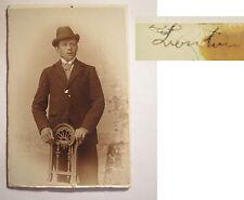 DRESDE-Striesen-M. Lantin? un homme-portrait/CDV