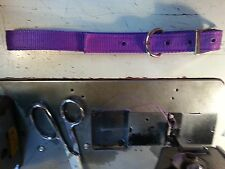 Carter Pet Supply Dog Collar 1'' Webbing 2 Ply Heavy Duty Hunting Dog!!