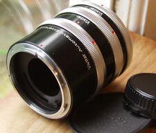 Canon FD  Auto extension tubes japan Vivitar