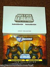 PARADEMON 2 PACK JUSTICE LEAGUE UNLIMITED FIGURE DC UNIVERSE JLU