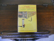 EMIL AND THE DETECTIVES, Erich Kastner, SIGNED, 1st US ed.1930 HCDJ, Scarce!