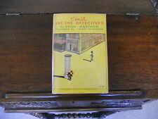 EMIL AND THE DETECTIVES, Erich Kastner, SIGNED, 1st US ed.1930 HCDJ, Scarce!