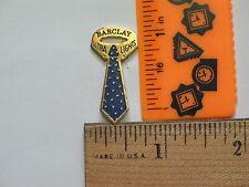 Barclay Ultra Light Cigarette Pin ,  Mens Tie Lapel Pin  Hat Tack , (Tobacco)