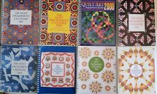 Lot of 16 Vintage Quilt Calendars 1980s ,90s  and address  book
