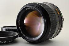 【Exc】Minolta  MD  Rokkor 85mm F/2 MF Lens from Japan #32