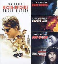 Mission Impossible 5 Movie Collection PG-13 spy new DVDs Tom Cruise Rogue Nation