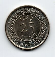 Suriname - 25 Cent 1989 UNC