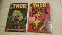 The Mighty Thor 131 153 Marvel Bronze Age Lot Nice