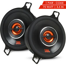 "JBL GX328 3.5"" 75W 2-WAY 3 OHM CAR AUDIO STEREO 3-1/2"" COAXIAL SPEAKERS - 1 Pair"