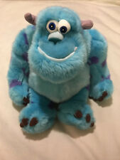"Disney Store Exclusive MC Sulley Mosters Inc 15"" Plush Sullivan"