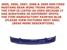 2005-2009 Ford Mustang rear wing trunk spoiler BLUE 4R336341602ABW