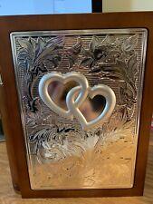 Lenox Wedding Promises Wooden Book Shelf Photo Album