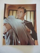 Sean Connery James Bond 007 8x10 Color Promo Photo #2