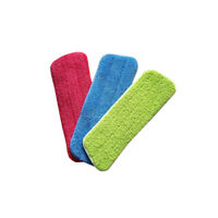 3pcs Floor Mop Wet Dry Dust Microfiber Replacement Cleaning Household Pad Heads