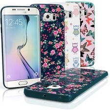 Impreso Funda Carcasa Gel TPU para Samsung Galaxy S6 Edge SM-G925 Cubierta Cover