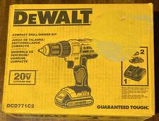 Dewalt Compact Drill/driver Kit DCD771C2