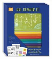 Bible Journaling Kit: Personalize Your Bible with Stickers, Tabs, Colored Pencil
