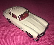 DY-12 White 1955 Mercedes Benz 300SL Gullwing - Red Interior - NEW OLD STOCK