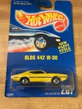 1992 Hot Wheels Olds 442 W-30 - Yellow - Collector #267
