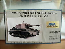 Model Resin Kit Ontrack (on Track) WWII German Howitzer on 1:35 in Box