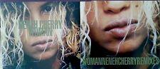 Neneh Cherry - 2 x CD bundle - Woman/Woman remixes 1996. Rock/Pop/Soul