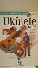 Play Ukulele Today! Level 1 Sheet Music songbook w/Cd 2006 Hal Leonard Mint